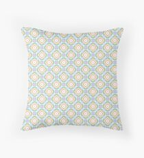 geometric abstract colorful chromatic seamless repeat pattern Floor Pillow