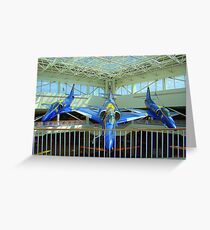 Blue Angels Jets #2 Greeting Card