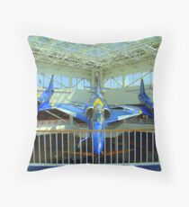 Blue Angels Jets #2 Throw Pillow