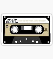 What do you think about the car? Cassette (Declan McKenna) Sticker