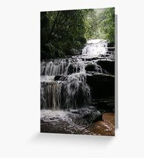 Leura (vertical) Greeting Card