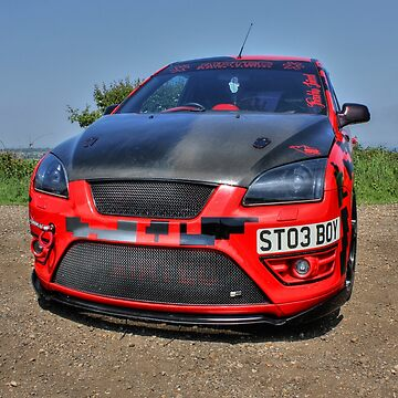 Red Focus ST by ViczS