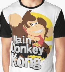 Super Smash Bros. Ultimate - I Main Donkey Kong (DK) Graphic T-Shirt