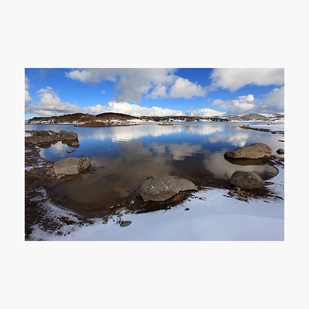 Rocky Valley Pondage, Falls Creek, Australia Photographic Print