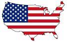 USA and Flag by Sun Dog Montana