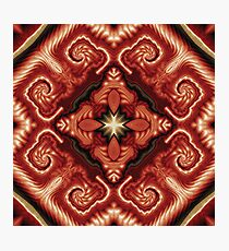 Baroque in Red Photographic Print