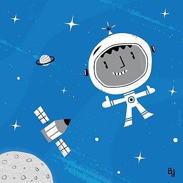 Naughty Astronaut by marcelobadari