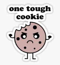 One Tough Cookie Sticker