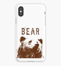 Brown Bear iPhone Case