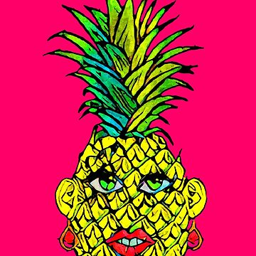 Madame Ananas by oldtroublesome