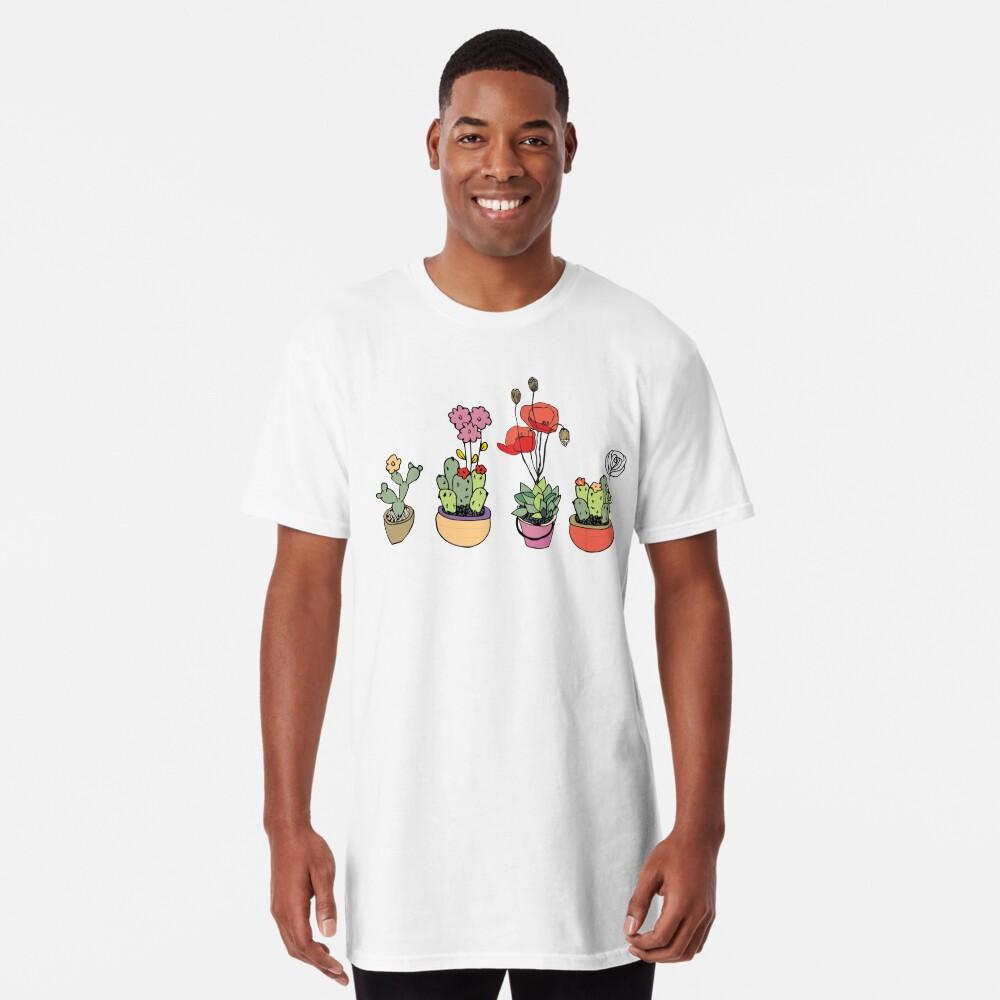 Botanical Wonder Long T-Shirt