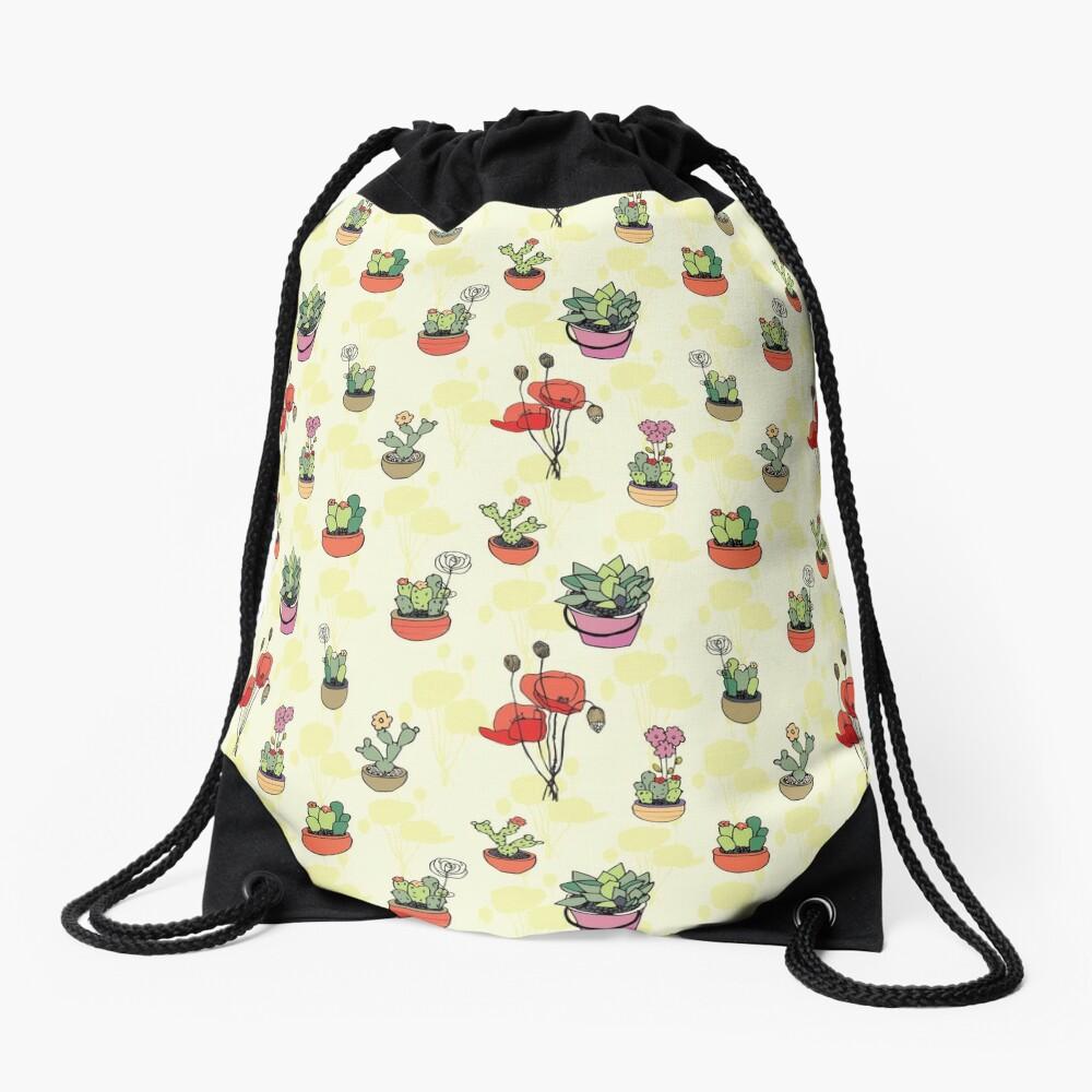 Botanical Wonder Drawstring Bag