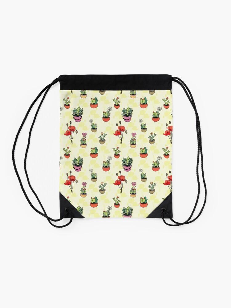 Alternate view of Botanical Wonder Drawstring Bag