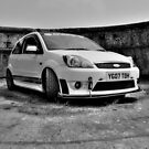 B&W Mk6 Fiesta ST by Vicki Spindler (VHS Photography)