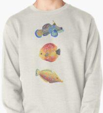 Water Colors Pullover Sweatshirt