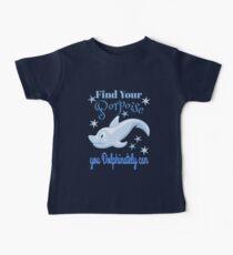 Cute Dolphin Porpoise Pun Baby Tee