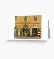 Bunyola Railway Station..........................Majorca Greeting Card