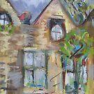 East Riddlesden Hall from the Garden by Susan Duffey