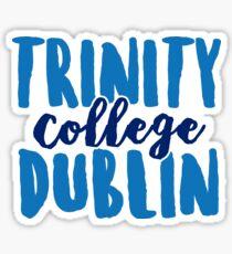 Trinity College Dublin - Design 1 Sticker