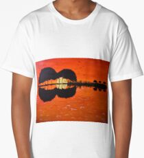 Silhouette of songs Long T-Shirt