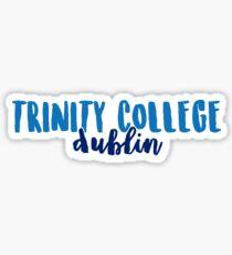Trinity College Dublin - Design 2 Sticker