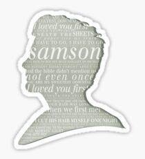 Samson Sticker