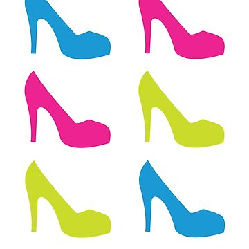 High Heels Pattern  by lemontee