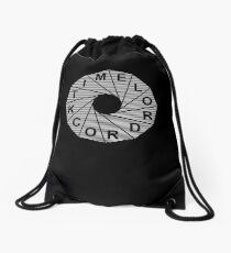 Time Lord Rock Drawstring Bag