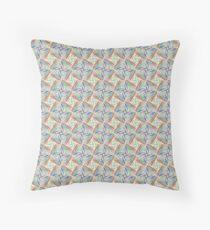 art geometric colorful seamless repeat pattern Floor Pillow