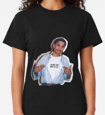 Obama Meme Frauen schulden Sie nicht Shirt Aufkleber Classic T-Shirt