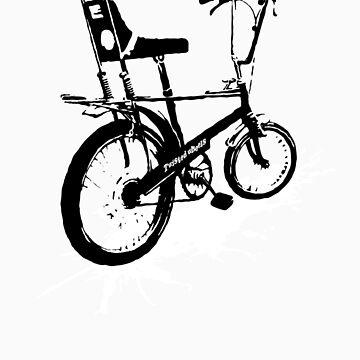twisted wheels: chopper splash by fourfootsquare
