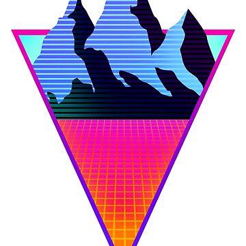 Vaporwave Triangle by TM490