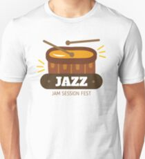 Jazz music 005 Unisex T-Shirt
