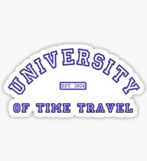 University of Time Travel  Series 2 of 6 Sticker