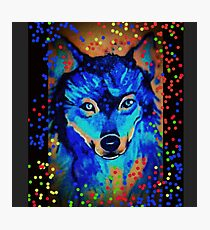 graffiti ~ Rave Wolf - inks Photographic Print