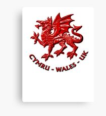 Wales - Red Canvas Print