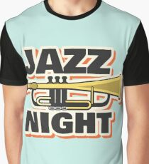 Jazz music 007 Graphic T-Shirt