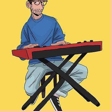keyboard boy by pinebite