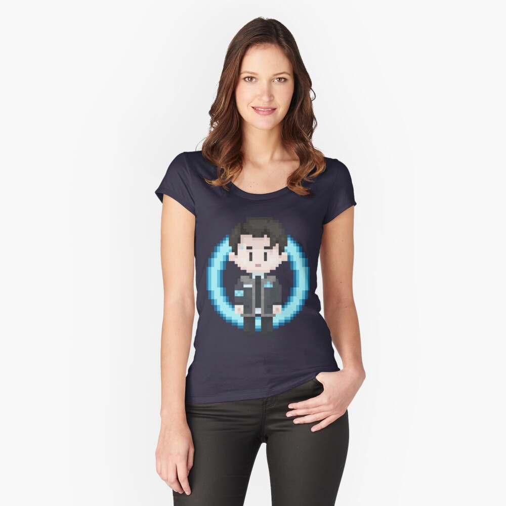 Connor Sprite Women's Fitted Scoop T-Shirt Front