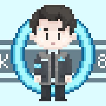 Connor Sprite by Jellyroll