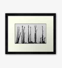 The Tall Ones Framed Print