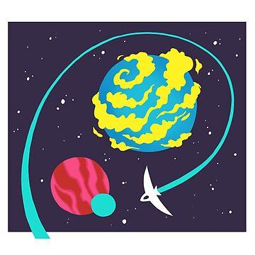 Space Exploration - 3 by CometShine