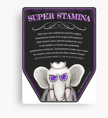 Super Stamina Canvas Print