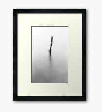 The one alone Framed Print