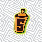 Jet Set Radio Spray Meter Icon by take-a-byte