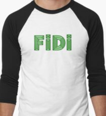 FiDi Financial District Baseball ¾ Sleeve T-Shirt