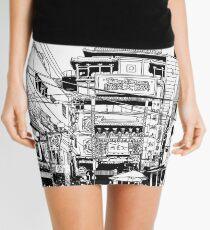 Yokohama - China town Mini Skirt