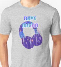 EDM Rave Mama Shirt | Present for the Rave Mom Unisex T-Shirt