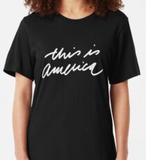 This is America Slim Fit T-Shirt