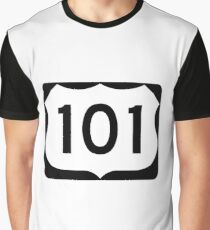 US Highway Route 101 Graphic T-Shirt